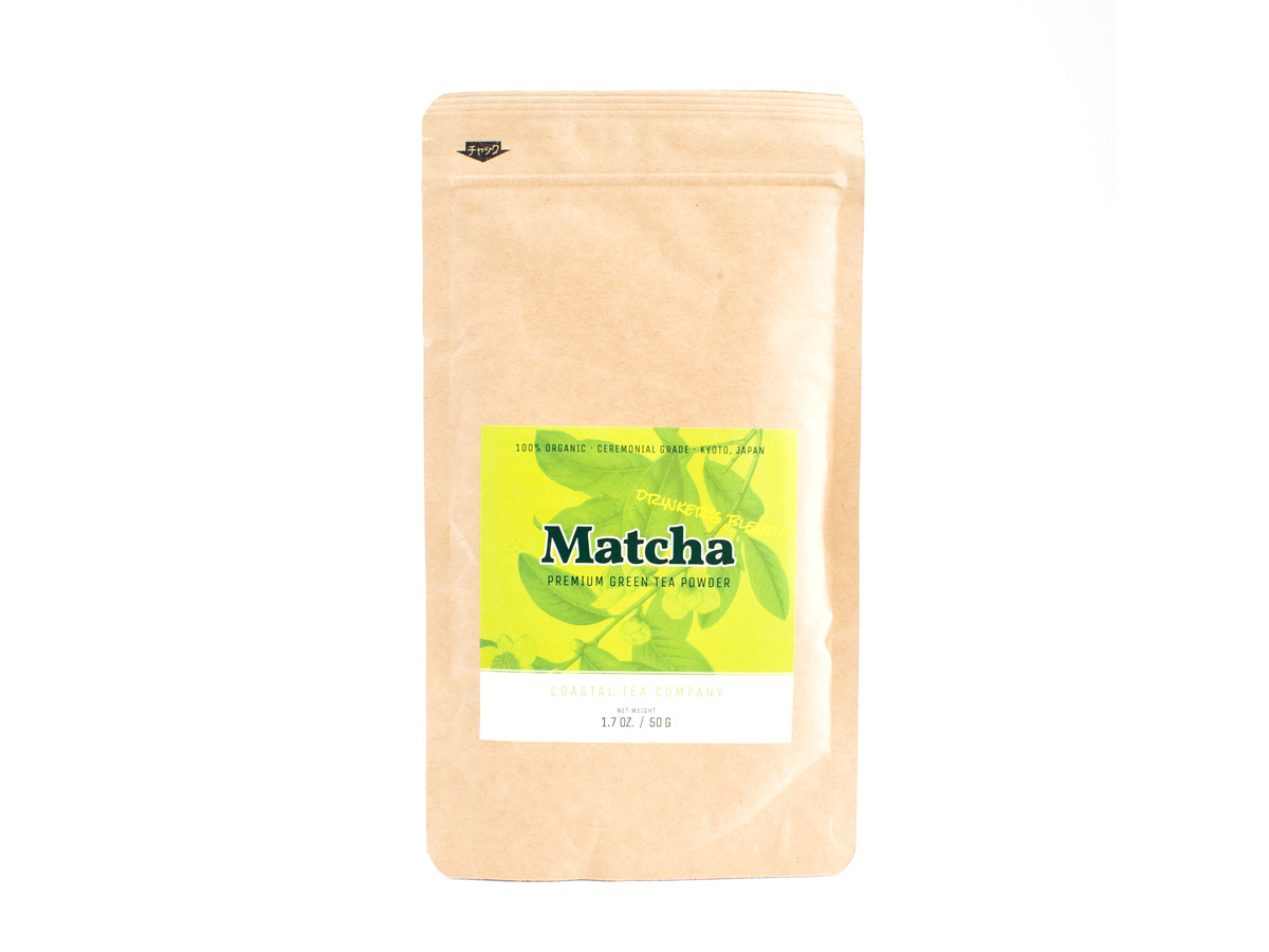 Coastal Tea Company Organic Ceremonial Matcha | Matcha Reviews