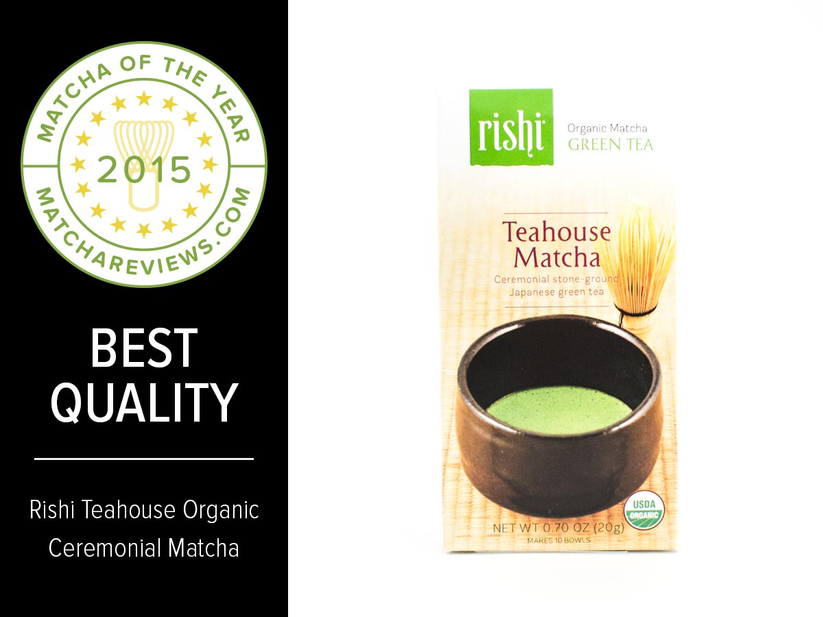 2015 Matcha of the Year Best Quality Award | Matcha Reviews