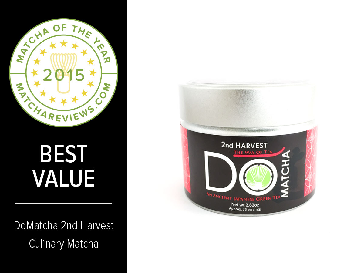 2015 Matcha of the Year Best Value Award | Matcha Reviews