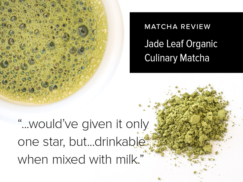 Jade Leaf Matcha | Matcha Reviews